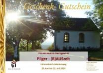 gutschein_Pilger(R)AUSzeit